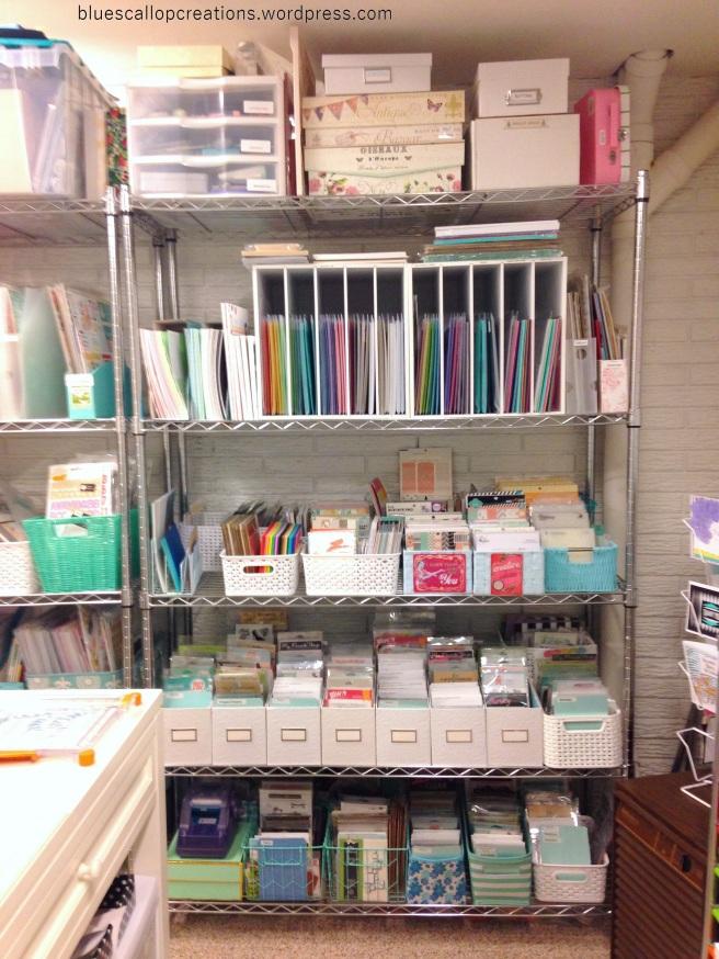 card making shelf 1